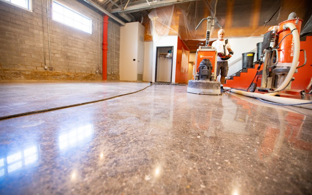 How to Create a Polished Concrete Floor