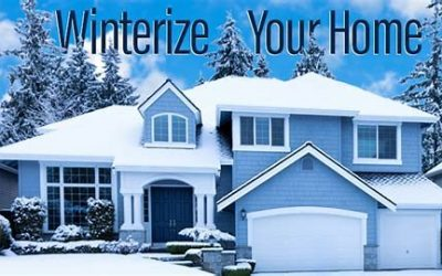 Easy Steps to Winterizing Your Home!